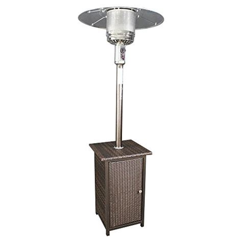Stand Up Propane Patio Heater Homcomfort Gh Liquid Propane Gas Patio Heater With Wicker Stand Farmhouse Touches