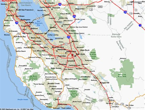 san jose to san jose map