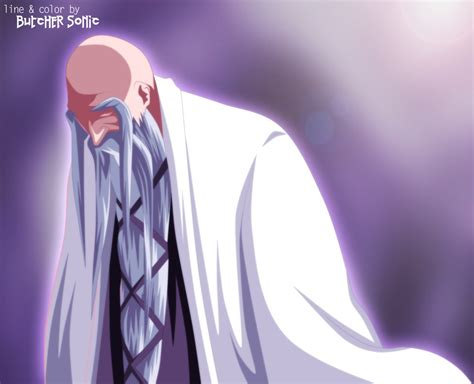 anime bleach genryusai genryusai shigekuni yamamoto bleach anime photo