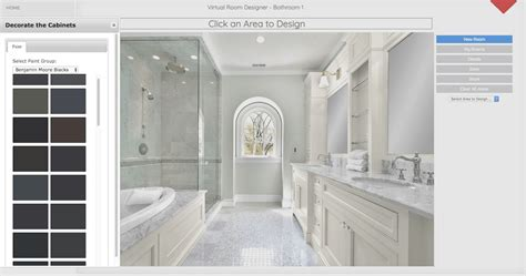 bathroom design tool options  paid