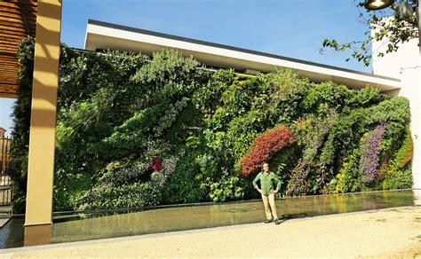 vertical garden blanc