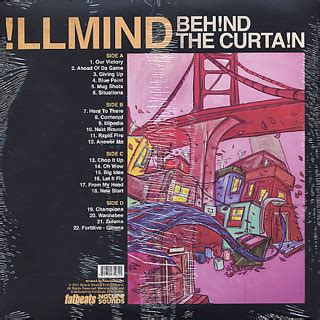 illmind behind the curtain illmind behind the curtain lp nature sound 中古レコード通販
