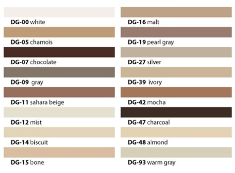 Floor Grout Color Chart Carpet by Duraceramic 12 X 24 Tile Colors Duraceramic Flooring