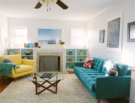 Yellow And Turquoise Living Room by Best 25 Yellow Chairs Ideas On Yellow