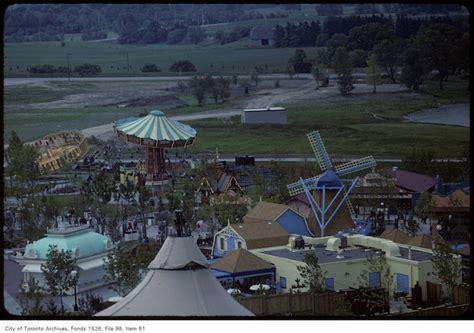 wonderland swing ride canada s wonderland opening year vintage photographs