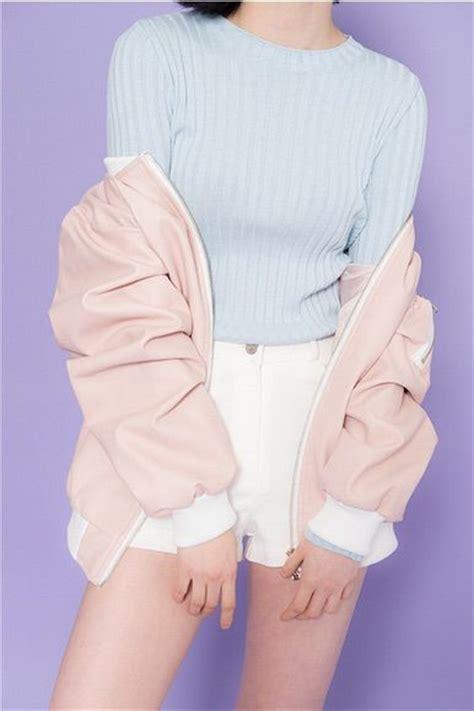 Jacket Brokat Huanzhu Soft Blue imagen v 237 a we it aesthetic blue clothes fashion