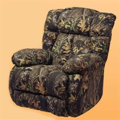 Max 4 Camo Recliner by Catnapper Laredo Real Tree Max 4 Camouflage Chaise
