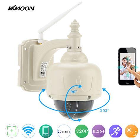 wifi ip outdoor kkmoon 720p wireless wifi ip outdoor ptz 2 8 12mm