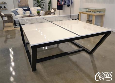 custom pong tables carved woodworks custom ping pong table