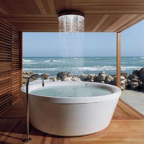 rain shower bathtub kos geo 180 bath tub with rain shower icreatived