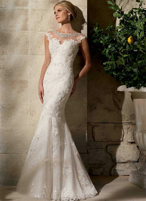 amazing vintage lace wedding dresses with capped sleeves