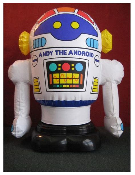 andy android andy the android by radio shack the robots web site