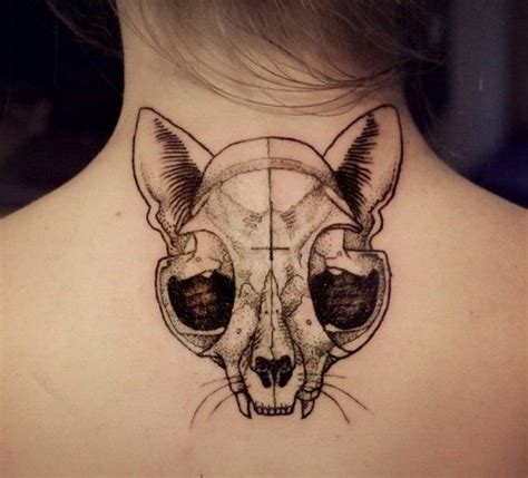animal skull tattoos cat skull sketches cat skull cat
