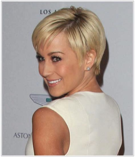 short haircuts for thick hair and oval faces hair style