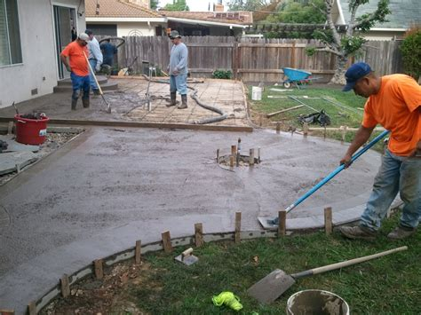 pouring concrete patio 4253 bengfa info