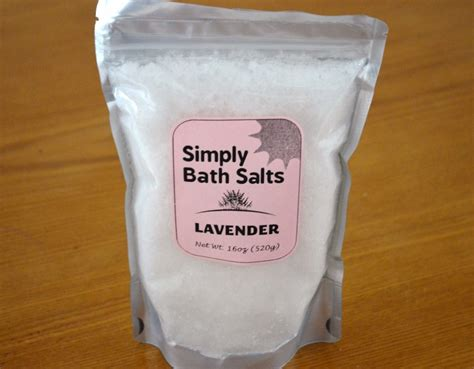 simply bath salts natural lavender bath salts review