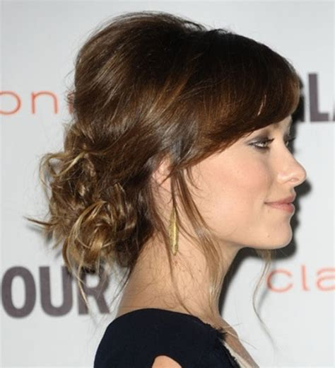 images of a messy bun with bang no hair out 10 amazing hairstyles for all lovely girls out there