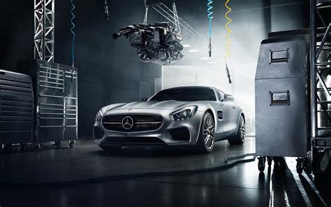 Engene Garage by 2016 Mercedes Amg Gt S Engine Garage Wallpaper Free