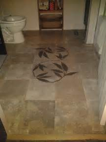my version of the brown paper bag floor for the home