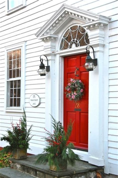 red door home decor what does having a red door mean