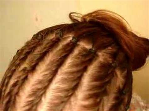 twisted hairstyles for white women twists in straight hair youtube