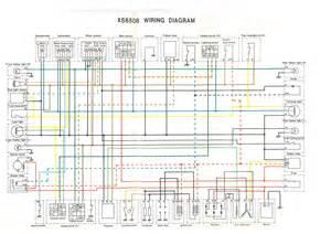 xs650 75 xs b 76 xs c wiring diagram thexscafe