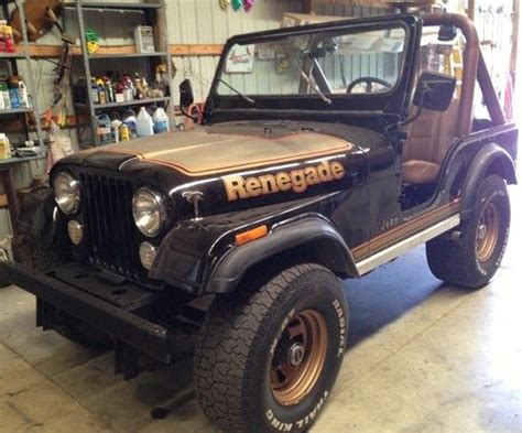 Used Jeeps For Sale In Michigan Find Used 1978 Jeep Cj5 Renegade In Battle Creek Michigan