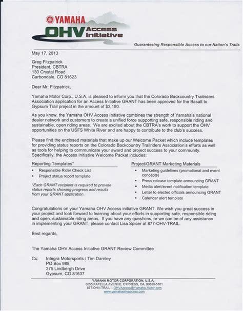 Yamaha Offer Letter News