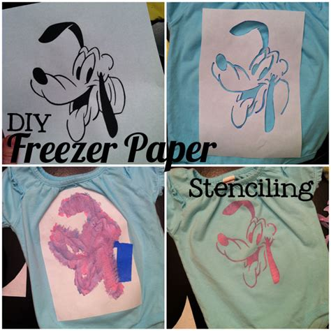 How To Make Freezer Paper Stencils - pond hopping browns freezer paper stenciling