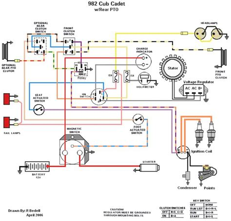 cub cadet 1045 wiring diagram wiring diagrams
