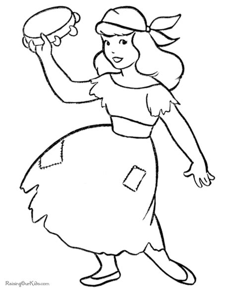 halloween girl coloring pages 024