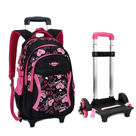 Best Seller Tas Trolley Anak 4 In 1 Avenger Blue 6d trolley school bag for with three wheels backpack