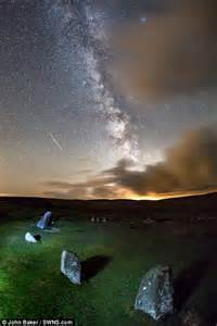 a shower that lights up the sky perseids meteor shower lights up the sky in dartmoor
