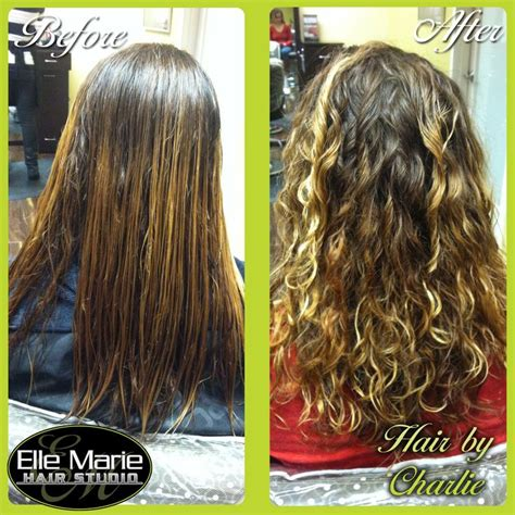 perm top of hair only 11 19 2012 before and after of a perm i did on my guest