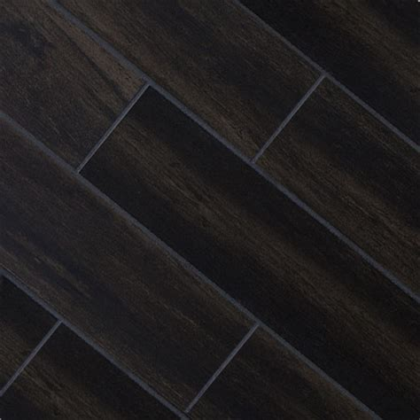 Black Ceramic Floor Tile Black Oak 5x32 Wood Plank Porcelain Bathroom Redux Pinterest Porcelain Tiles Wood Planks