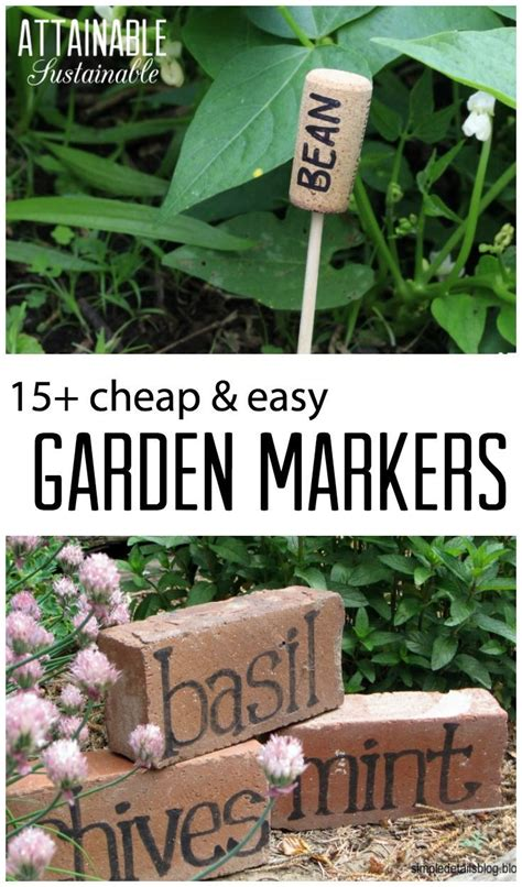 garden signs for vegetables 25 best ideas about vegetable garden markers on
