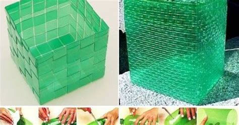 botellas de plastico construccion y manualidades hazlo tu mismo cesto para basura hecho con botellas de pl 225 stico