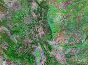 satellite maps colorado colorado satellite images landsat color image