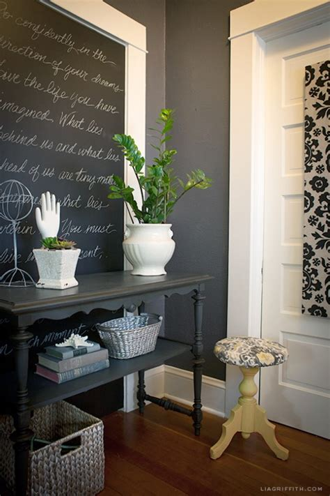black and charcoal gray paint colors for our home office driven by decor