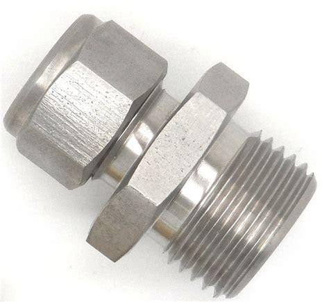 stainless steel fittings metric threaded compression fittings stainless steel m10