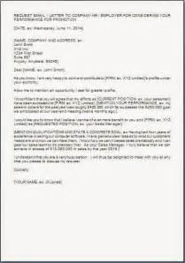 Corporate Secretary Resume Self Promotion Request Letter