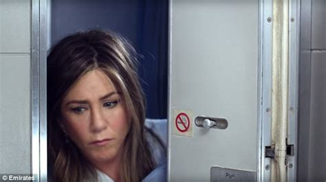 Aniston Shower by Aniston Jokes About Jet Set Lifestyle In Emirates
