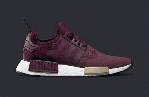 Adidas Nmd Maroon Bergundy adidas wmns nmd r1 maroon sneakerb0b releases