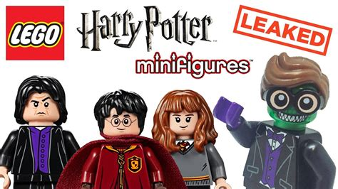 harry potter official 2018 1785493590 leaked lego harry potter 2018 collectible minifigures list youtube