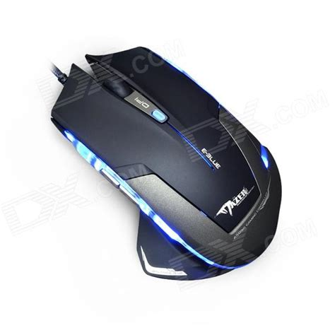 Mouse Gaming Mazer e 3lue ems140bkc e blue mazer 2500dpi optical usb wired gaming mouse w blue led blue black