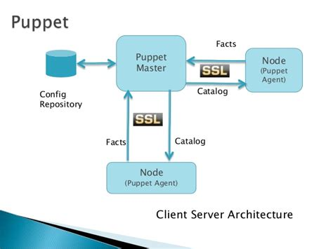 puppet architecture diagram automating software development cycle a devops approach