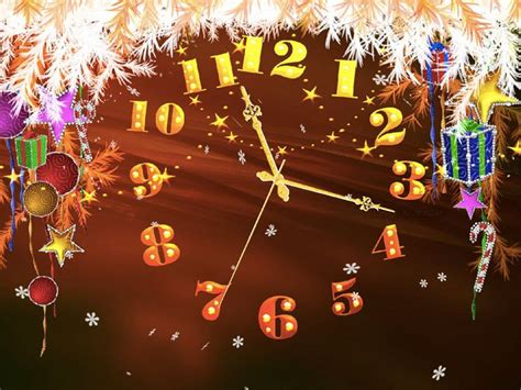 themes hd clock 25 best ideas about christmas live wallpaper on pinterest