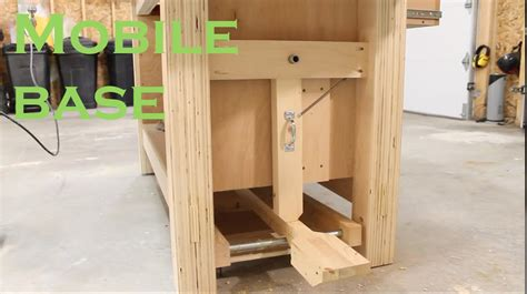 work bench base workbench mobile base youtube