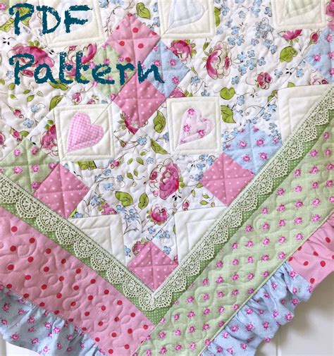 quilt pattern for baby girl ruffle baby quilt pattern baby girl quilt patterns quilt