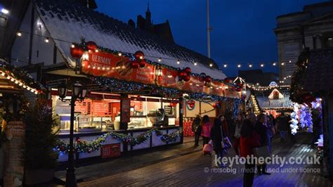 key to the city nottingham events winter wonderland